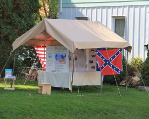 the civil war tent