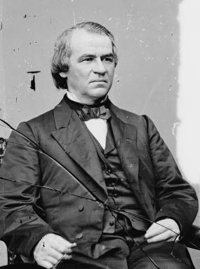 Andrew Johnson-Photo Credit: Library of Congress
