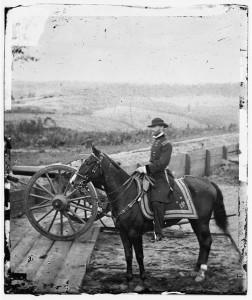 sherman on horse